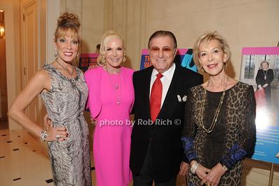 Michele Riggi, Michele Herbert, Larry Herbert, Anka Palitz photo by Rob Rich/SocietyAllure.com © 2012 robwayne1@aol.com 516-676-3939