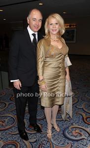 Rick Friedberg, Francine LeFrak photo by Rob Rich © 2010 robwayne1@aol.com 516-676-3939