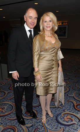 Rick Friedberg, Francine LeFrak<br /> photo by Rob Rich © 2010 robwayne1@aol.com 516-676-3939