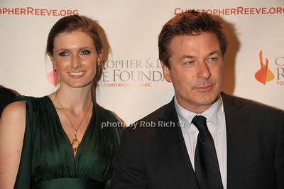 Alexandra Reeve Givens and Alec Baldwin photo  by Rob Rich © 2011 robwayne1@aol.com 516-676-3939