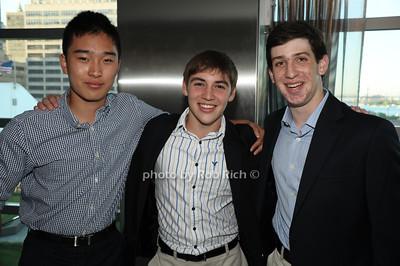 Michael Chen, Daniel Shlien, Harrison Gordon photo by Rob Rich/SocietyAllure.com © 2012 robwayne1@aol.com 516-676-3939