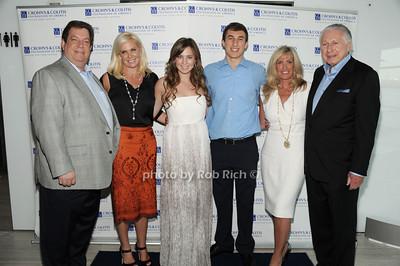 Mitch Modell, Robin Modell,Ashley Modell, Cameron Klein, Lenora Klein, John Klein photo by Rob Rich/SocietyAllure.com © 2012 robwayne1@aol.com 516-676-3939