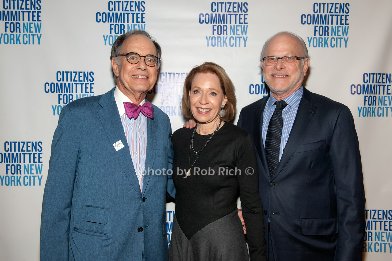 Tom Israel with Suzanne & John Golden
