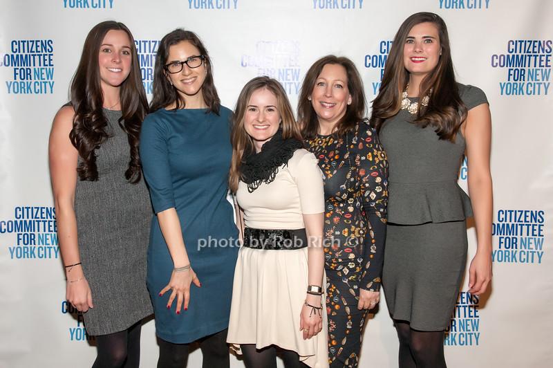 Tara Rielly, Allison Gottlieb, Morgan Rosse, Andrea Markezin & Laurie Genatos