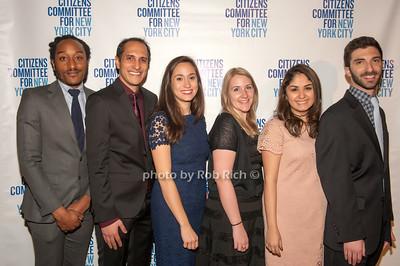 CCNYC staff Shawn Whitehorn, Saleen Shah, Laurie Lichtman, Kathrine Grassley, Marina Gonzalez, & Andrew Sanjous