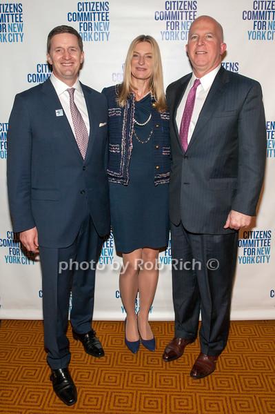 Harry & Kristine Davidson with James P. O'Neill