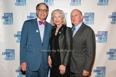 Tom Israsel, Susan Cullman & John Kirby