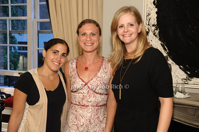 Joyce Dweck, Juliette Herzberg, Sarah McNamara