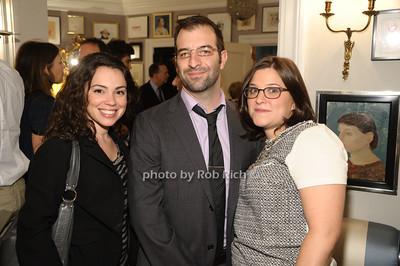 Nicole Bonito, Daniel Scholz, Beth Findelstein