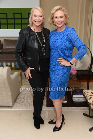 Suzanne Kremer, Pamela Morgan photo by Rob Rich/SocietyAllure.com ©2017 robrich101@gmail.com 516-676-3939