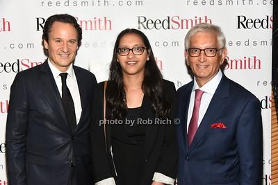 David Hryck, Nikita Rabheru, Ashok Rabheru photo by Rob Rich/SocietyAllure.com ©2018 robrich101@gmail.com 516-676-3939