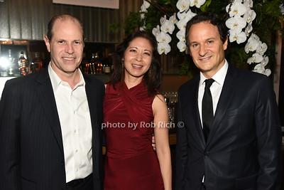 Joe Sarcinella, Irene Wong, David Hryck photo by Rob Rich/SocietyAllure.com ©2018 robrich101@gmail.com 516-676-3939