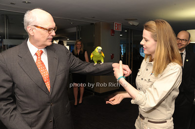 Abelardo Curdumi, Juanita the Parrot, Maria Mikolaenko photo by Rob Rich/SocietyAllure.com © 2013 robwayne1@aol.com 516-676-3939