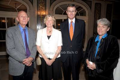 Bjorn Figenschou, Constance Hoguet Neel, Robert Houget   Patricia Moehlman  photo by Rob Rich © 2010 robwayne1@aol.com 516-676-3939