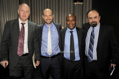 Peter Daszak, Kevin Olival, Kunle Abodunde,  Gerardo Suzal photo by Rob Rich/SocietyAllure.com © 2014 robwayne1@aol.com 516-676-3939