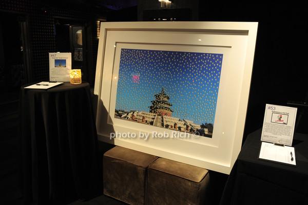 silent auction items<br /> photo by Rob Rich/SocietyAllure.com © 2014 robwayne1@aol.com 516-676-3939
