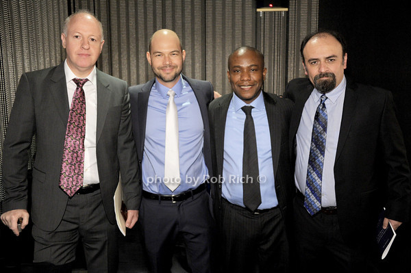 Peter Daszak, Kevin Olival, Kunle Abodunde,  Gerardo Suzal<br /> photo by Rob Rich/SocietyAllure.com © 2014 robwayne1@aol.com 516-676-3939