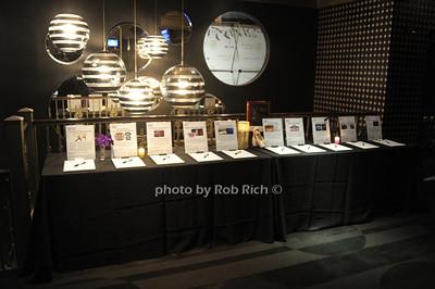 silent auction items photo by Rob Rich/SocietyAllure.com © 2014 robwayne1@aol.com 516-676-3939