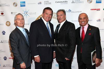 Richard Kendall, Tom Ridge, Armand Assante, Tony LoBianco photo by R.Cole for  Rob Rich/SocietyAllure.com © 2013 robwayne1@aol.com 516-676-3939