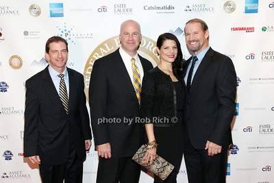 Steve Hughes, Paul Abosco, Veronica Stiegler, Bill Cowher  photo by R.Cole for  Rob Rich/SocietyAllure.com © 2013 robwayne1@aol.com 516-676-3939 photo