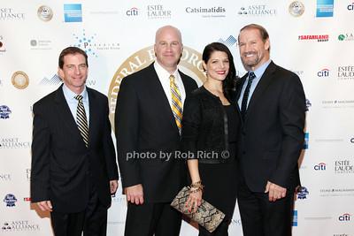 Steve Hughes, Paul Abosco, Veronica Stiegler, Bill Cowher  photo by R.Cole for  Rob Rich/SocietyAllure.com © 2013 robwayne1@aol.com 516-676-3939 photo