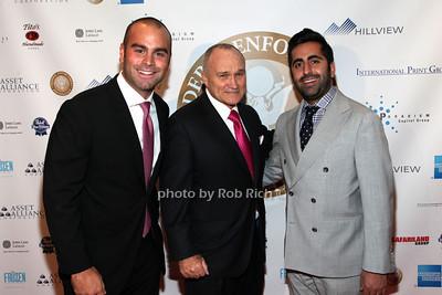 Daniel Hedaya, Ray Kelly, Khashy Eyn photo by R.Cole for  Rob Rich/SocietyAllure.com © 2013 robwayne1@aol.com 516-676-3939