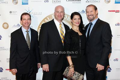 Steve Hughes, Paul Abosco, Veronica Stiegler, Bill Cower  photo by R.Cole for  Rob Rich/SocietyAllure.com © 2013 robwayne1@aol.com 516-676-3939 photo