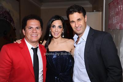 Romero Britto, Daniella Rich Kilstock, Richard Kilstock photo by Rob Rich © 2010 robwayne1@aol.com 516-676-3939