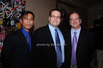 Cesar Llacuna, Joe Justus, Mark Lindbaker photo by Rob Rich © 2010 robwayne1@aol.com 516-676-3939