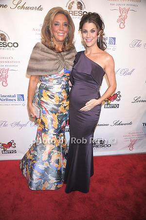 Denise Rich, Samantha Harris photo by Rob Rich © 2007 robwayne1@aol.com 516-676-3939