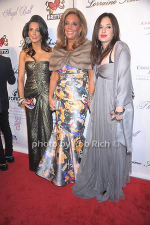 Daniella Rich Kilstock, Denise Rich, Ilona Rich Schachter photo by Rob Rich © 2007 robwayne1@aol.com 516-676-3939