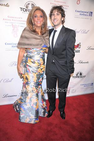 Denise Rich, Josh Groban photo by Rob Rich © 2007 robwayne1@aol.com 516-676-3939