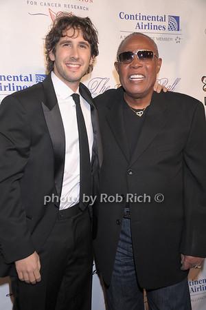 Josh Groban, Sam Moore photo by Rob Rich © 2007 robwayne1@aol.com 516-676-3939