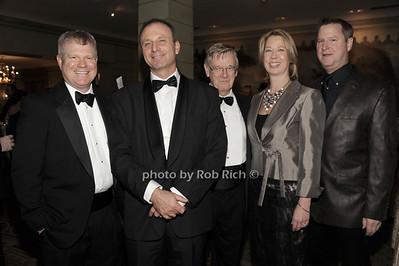 Alex Scott, Mikael Dolsten, Bob Easton ,Cindy Green, Rob Andrulewich photo by Rob Rich © 2012 robwayne1@aol.com   516-676-3939