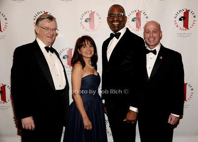 Robert Easton, Lily Safani, Dr.Tony Coles, Mark Alles  photo by Rob Rich/SocietyAllure.com © 2013 robwayne1@aol.com 516-676-3939