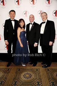 Alessandro Riva, Lily Safani, Mark Alles, Robert Easton photo by Rob Rich/SocietyAllure.com © 2013 robwayne1@aol.com 516-676-3939