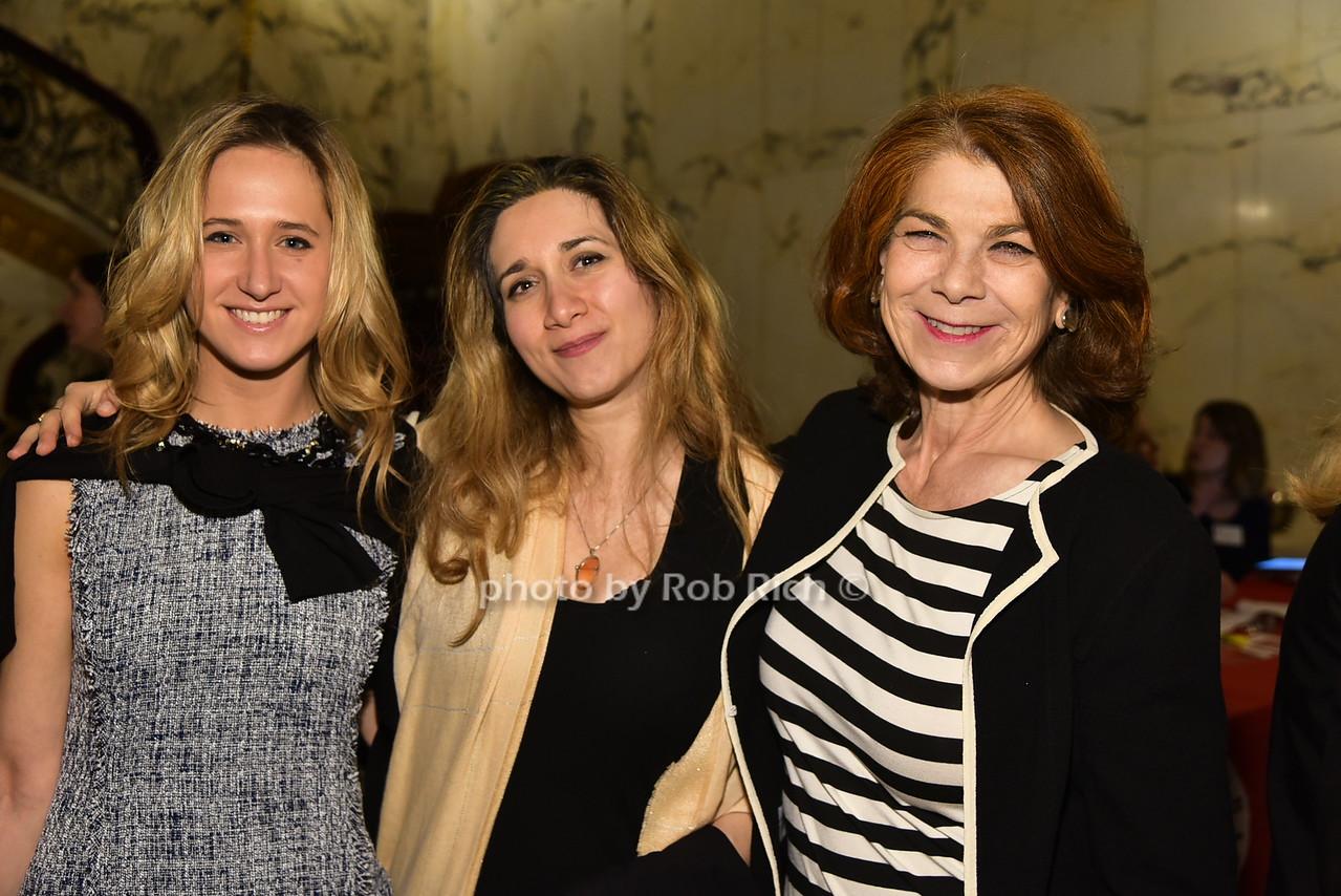 Ilana Portner, Diana Boter, Lisa Burnsphoto by Rob Rich/SocietyAllure.com © 2016 robwayne1@aol.com 516-676-3939