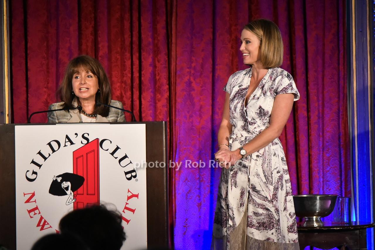 Lily Safani, Amy Robach photo by Rob Rich/SocietyAllure.com © 2016 robwayne1@aol.com 516-676-3939