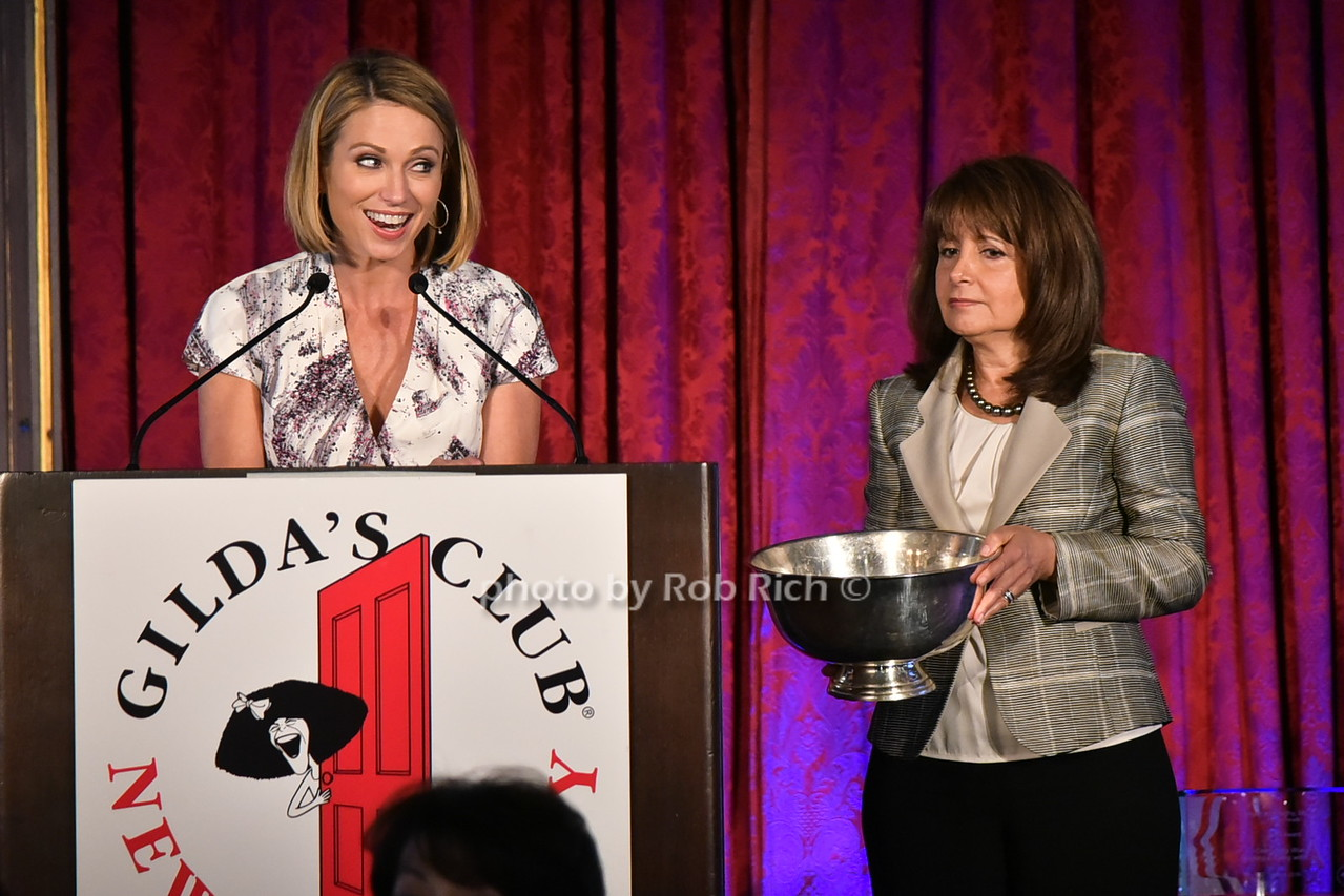 Amy Robach, Lily Safani