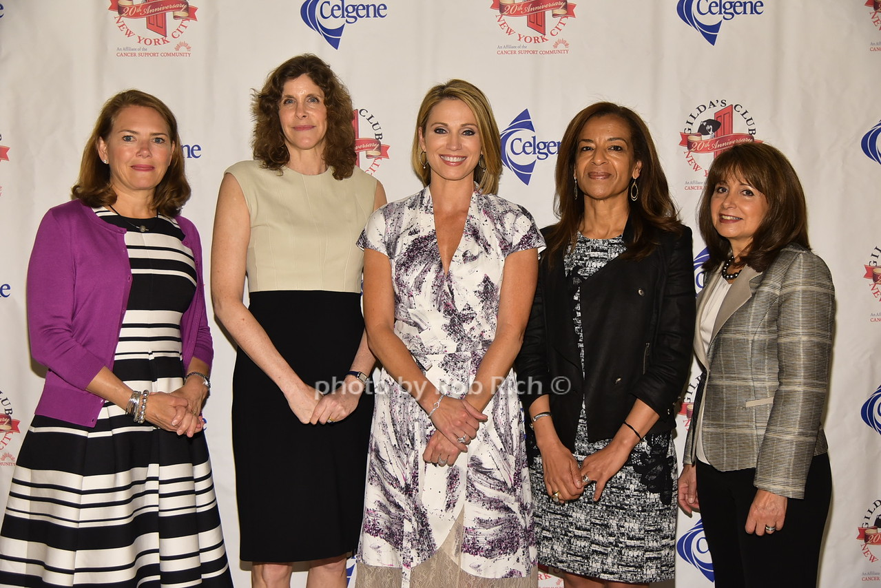 Amy P. Abernethy, Jami Rubin, Amy Robach, Bahija Jallal, Lily Safani