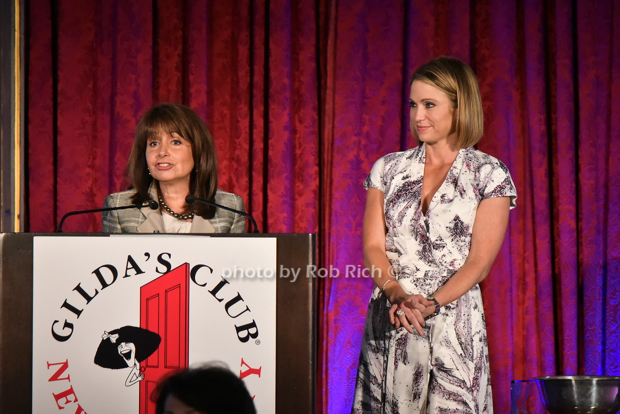 Lily Safani, Amy Robach 