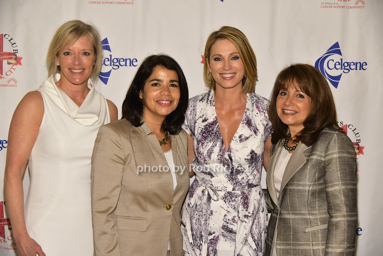 Deborah Wilson, Migdalia Torres, Amy Robach, Lily Safani