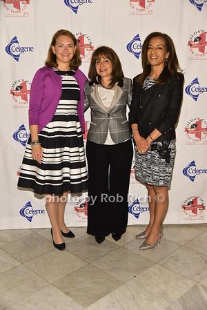 Amy P. Abernethy, PhD (honoree) Flatiron Health, Lily Safani(Gilda's Club), Bahina Jallal(honoree)  photo by Rob Rich/SocietyAllure.com © 2016 robwayne1@aol.com 516-676-3939