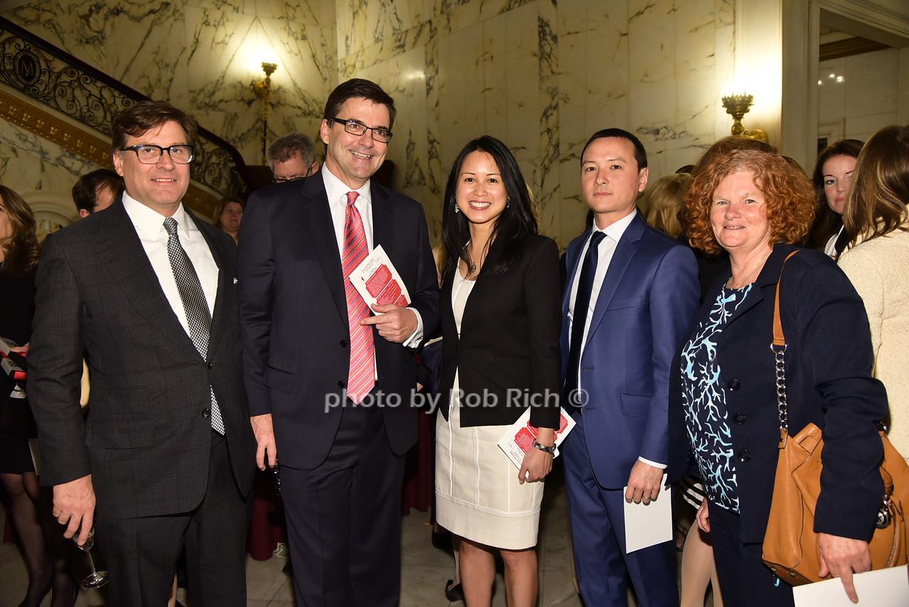 John Peters, Bill Hartman, Jennifer Li, Matthias Li, Colleen Lyonsphoto by Rob Rich/SocietyAllure.com © 2016 robwayne1@aol.com 516-676-3939