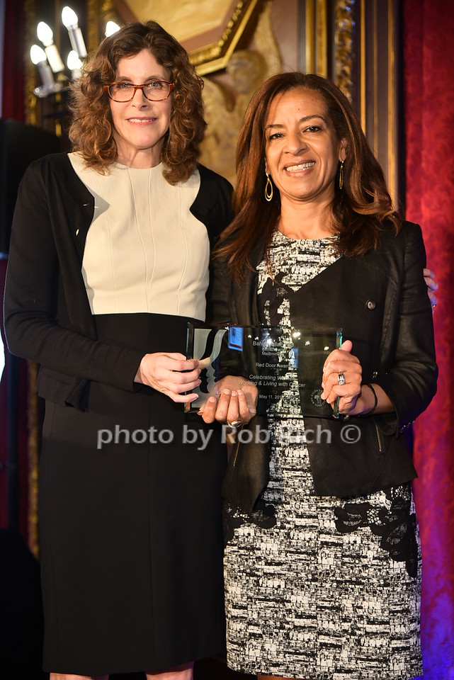 Jami Rubin, Bahija Jallal (honoree)