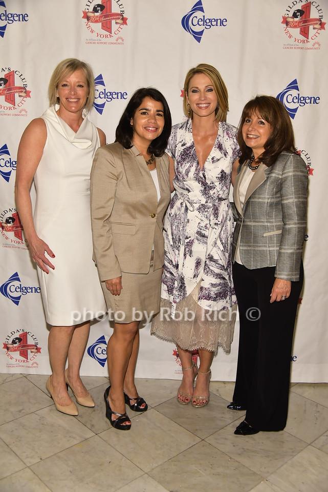 Deborah Wilson, Migdalia Torres, Amy Robach, Lily Safaniphoto by Rob Rich/SocietyAllure.com © 2016 robwayne1@aol.com 516-676-3939