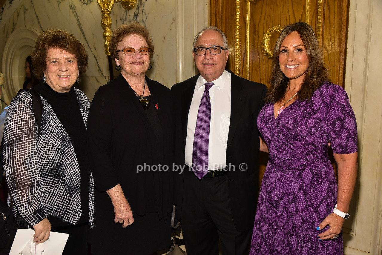 Faye Hunsinger, Joan LiCursi, Frank Russo, Paula Floriphoto by Rob Rich/SocietyAllure.com © 2016 robwayne1@aol.com 516-676-3939