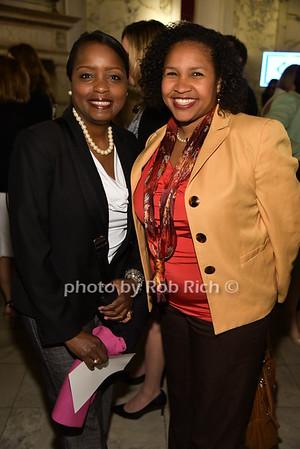 Stephanie Burns, Esi-Kioanga Bowser photo by Rob Rich/SocietyAllure.com © 2016 robwayne1@aol.com 516-676-3939