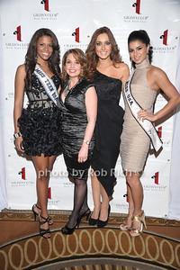 Miss Teen USA Kamie Crawford, Pauls Shugart, Miss Ireland  2010 Rozanna Purcell , Miss USA Rima Fakih photo by Rob Rich © 2010 robwayne1@aol.com 516-676-3939