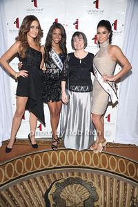 Miss Ireland  2010 Rozanna Purcell,Miss Teen USA Kamie Crawford, Eileen Jackson, Miss USA 2010 Rima Fakih photo by Rob Rich © 2010 robwayne1@aol.com 516-676-3939